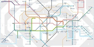 Alternative Tube Maps: The Accessible Underground