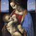 GE-249;0; Leonardo da Vinci. Madonna and Child (Madonna Litta). Tempera (and oil?) on panel, transferred on canvas 42 x 33 cm