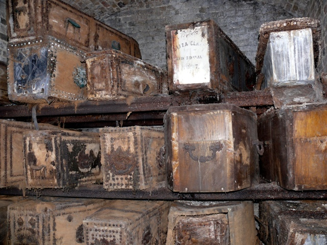 More coffins