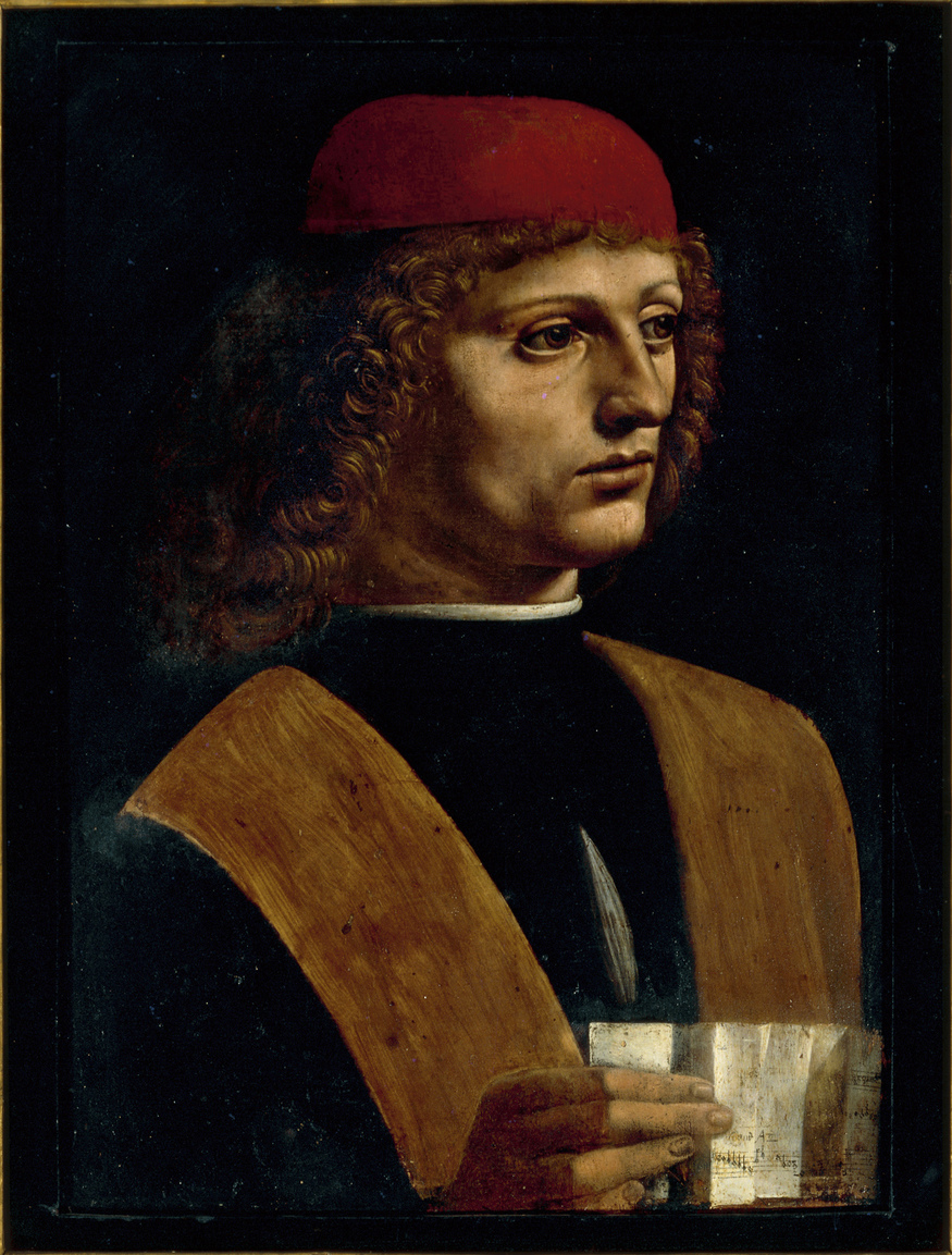 oil on panel 43 x 31 cm