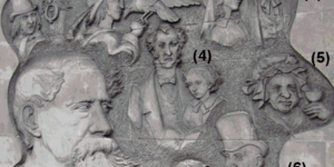 Dickens Quiz: Name The Dudes On This Mural
