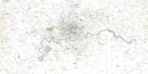 UCL Students Create Hand Drawn Map Of London