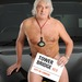 Get Taxi 2012 nude calendar in support of the Suzy Lamplugh Trust - FEBRUARY - Photo shows Gary Johnson