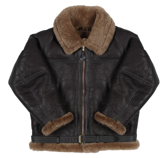 The RAF Irvin Flying Jacket  is made of top quality, supple sheepskin with long rugged wool and every jacket has the unique IRVIN woven label sewn inside, guaranteeing that it is an official RAF Irvin jacket. Buy now.