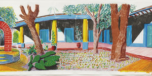 Exhibition Preview: David Hockney Moving Focus @ Alan Cristea Gallery