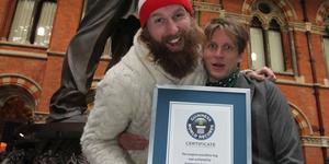 Epic Hug In St Pancras Breaks World Record