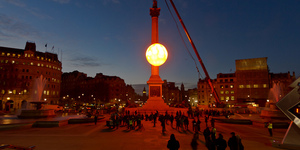 Trafalgar Sun Rises in London