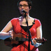Helen Arney plays her uke / photo copyright Isabelle Adam