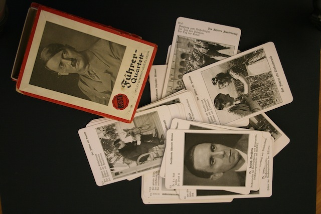 Fuhrer Quartett (basically, Nazi Happy Families)
