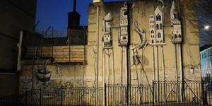 New Phlegm Mural On The Rag Factory
