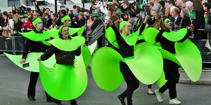The Friday Photos: Public Art, Parades And Parties