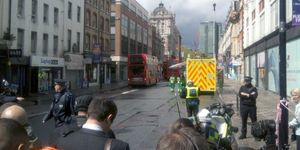 Incident On Tottenham Court Road