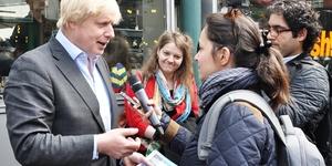 Boris Goes To Borough Market
