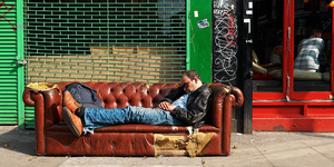 The Friday Photos: Londoners Sleeping