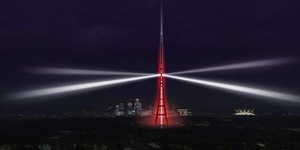 Crystal Palace Light Show To Mark Digital TV Switchover