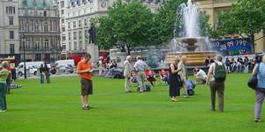 Trafalgar Square To Become An English Garden