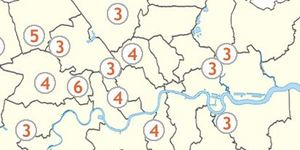Which Bits Of London Have The Most Stations Named After Them?