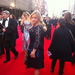Blogger Liberty London Girl shows off her outfit on the red carpet by Zoe Craig