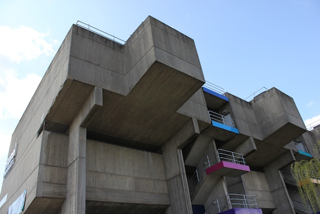 London 39 s top brutalist buildings londonist for Architecture 60s