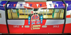 Jubilee Trains Get Jubilee Makeover For Jubilee