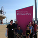 At the end, a few of us were lucky enough to go on a tour of a near deserted Olympic Park