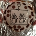 Decorated Schrodinger's cat cake by previous guest Gemma Arrowsmith