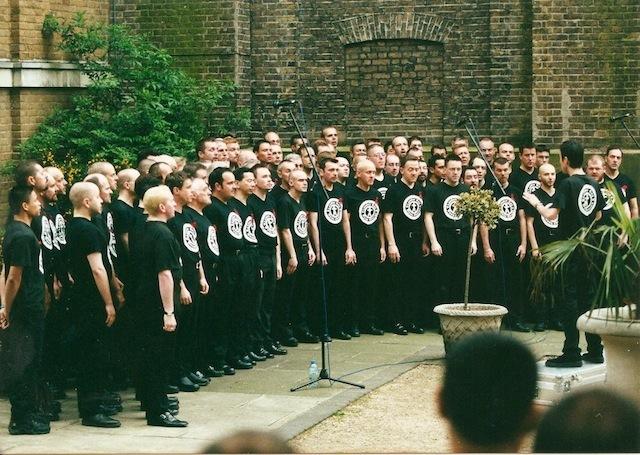 At the Admiral Duncan Vigil 1999