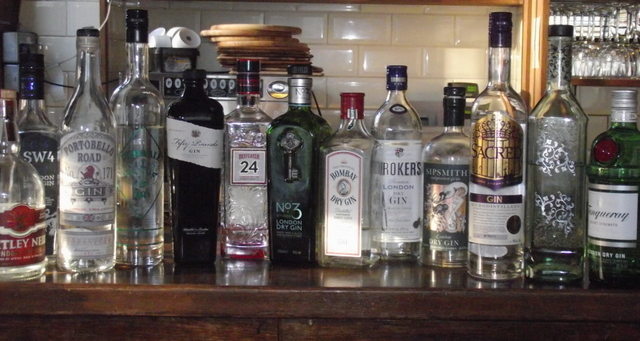So many gins to choose from
