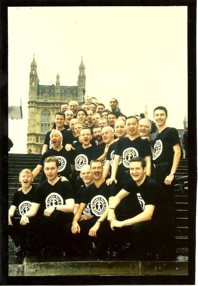 The chorus circa 1998