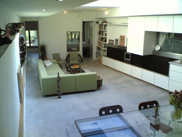 Inside the Peckham House