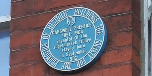 London's Weirdest Plaques: Carswell Prentice
