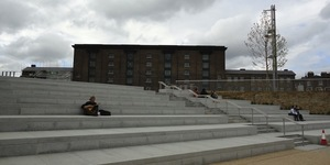 Granary Square Opens In King's Cross