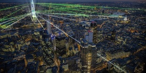 Laser Light Show To Inaugurate The Shard