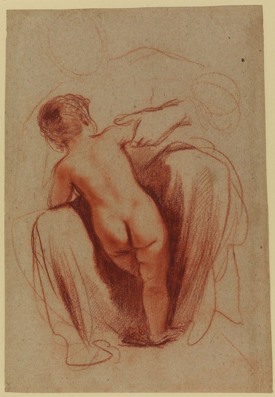Guercino (Giovanni Francesco Barbieri) Child seen from behind. © The Courtauld Gallery, London