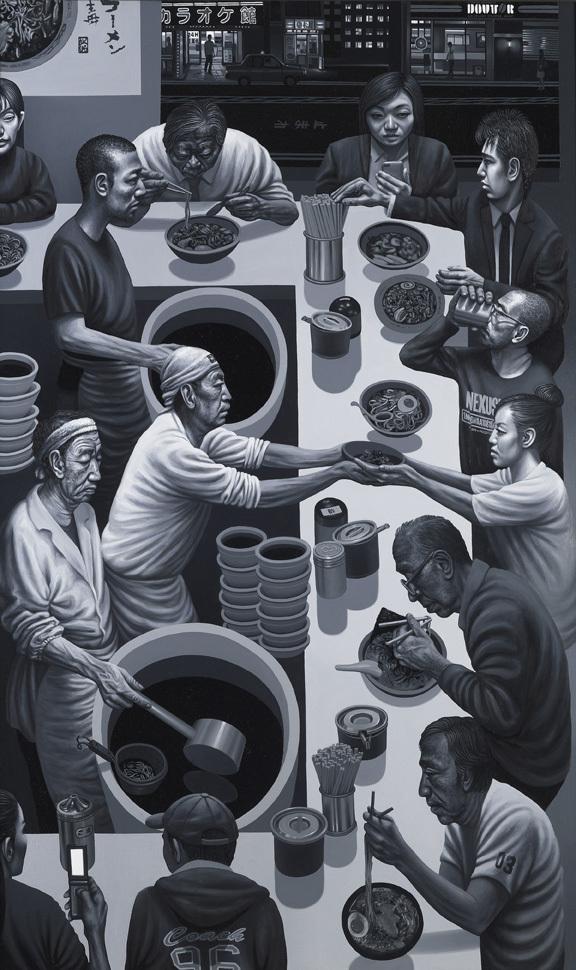Mr Kitazawa's Noodle bar by Carl Randall © Carl Randall