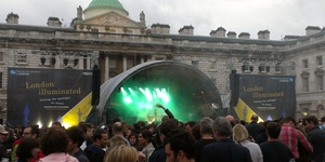 Festival Review: M83 @ Somerset House Summer Series