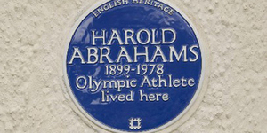 "New Blue Plaque For ""Chariots Of Fire"" Coach, Sam Mussabini"