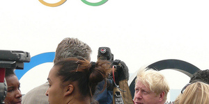 Olympics Boost Boris's Popularity