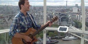 Gig On The London Eye & Interview With Andy Grammer