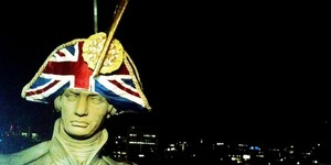 London Statues Get New Hats
