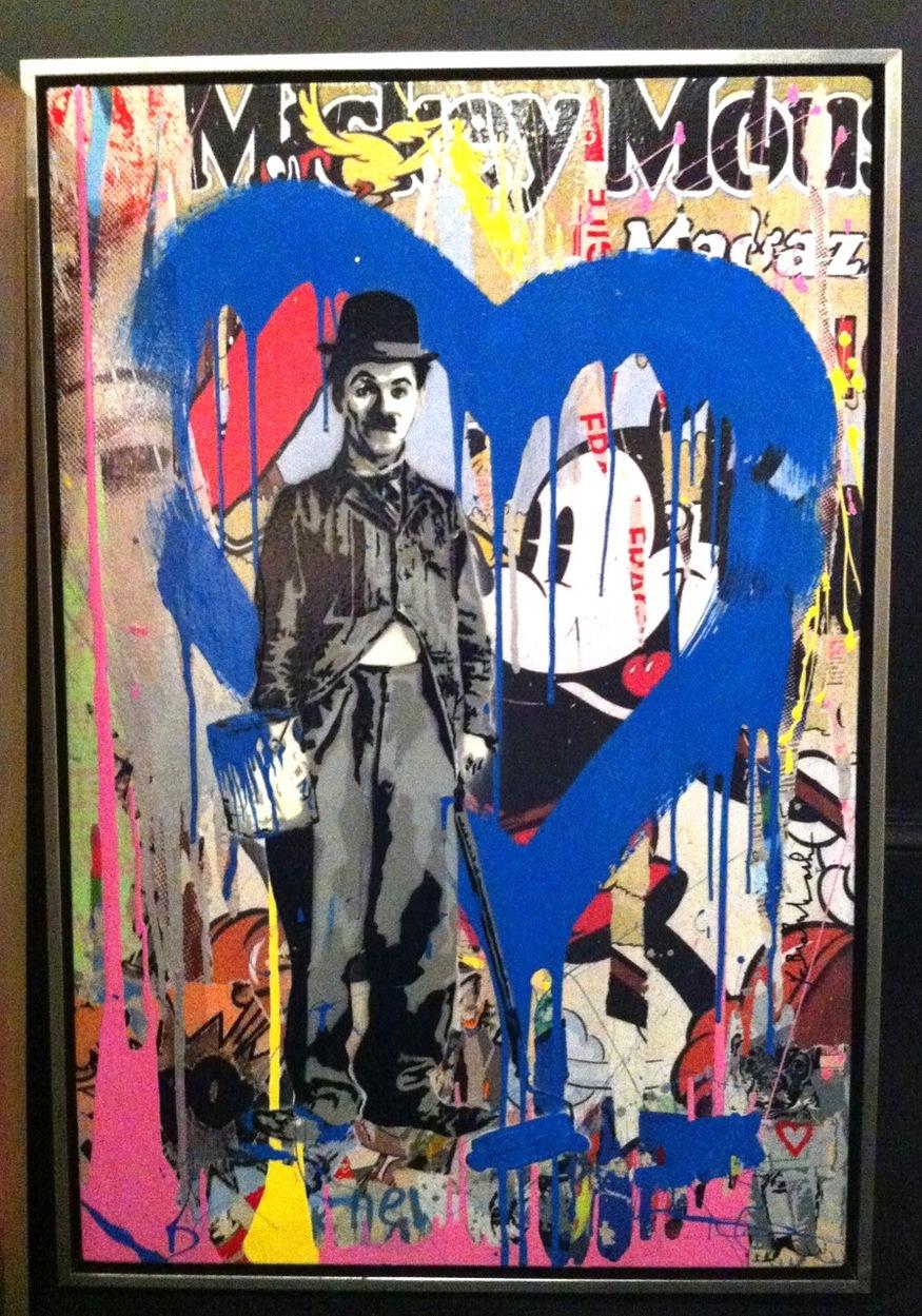 MR BRAINWASH, Charlie Chaplin. © Its A Wonderful World