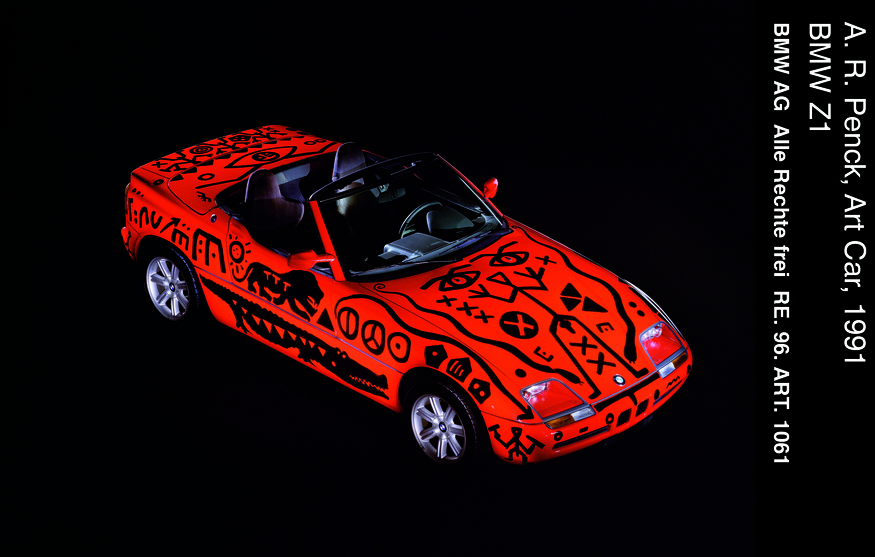 A. R. Penck, Art Car, BMW Z1