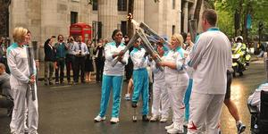 In Pictures: Paralympic Torch Relay