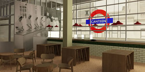 Eat At This 1950s-Style London Transport Cafe