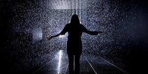 Art Review: Rain Room @ The Curve, Barbican Centre