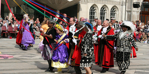 Celebrate Harvest Festival With The Pearly Kings And Queens