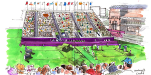 Lis Watson: Sketches From A Jubilympic Summer