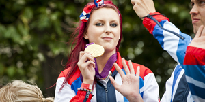 Team GB Olympic And Paralympic Parade Part 1: The Athletes