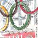 Olympics rings at St Pancars