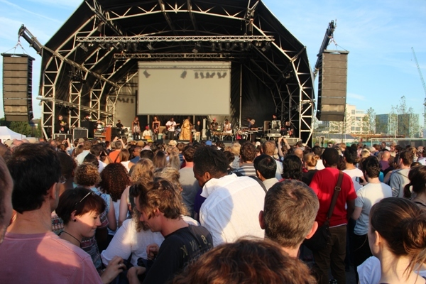 The Granary Square Stage